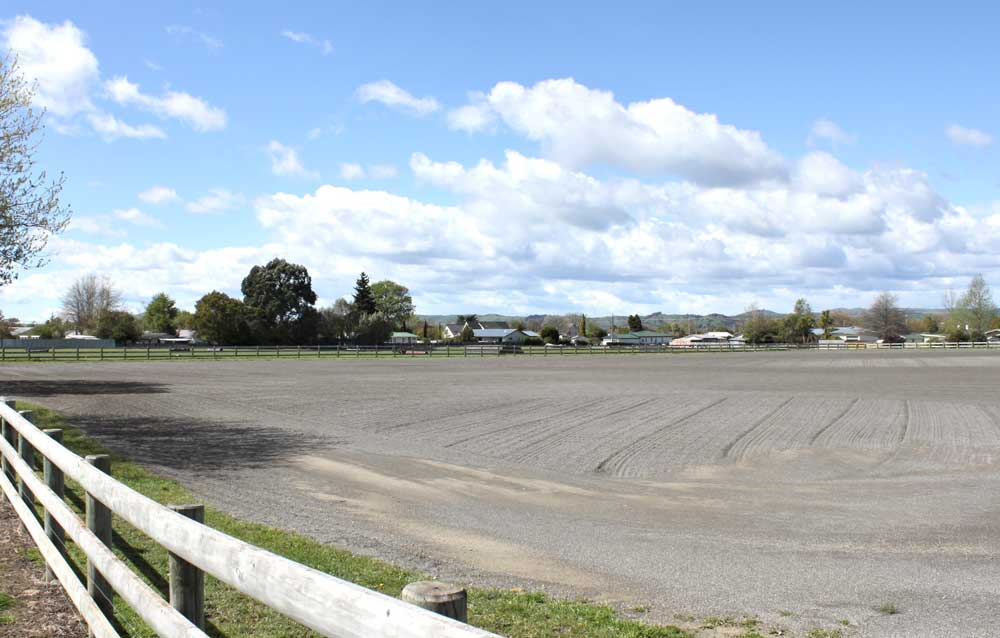 Image of the Sand Arena at Solway Showgrounds in Masterton