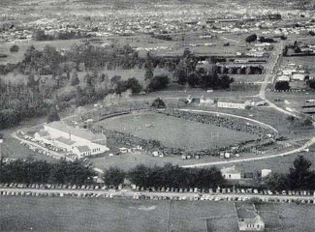 Solway Showgrounds Masterton Aerial View